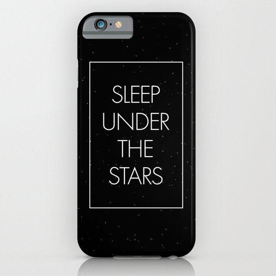 Sleep Under The Stars iPhone & iPod Case
