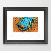 POP HELL #8 Framed Art Print