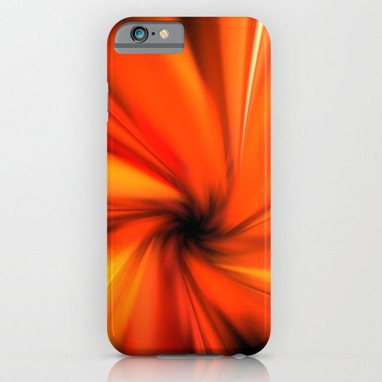 Making a Smoothie (Orange) iPhone & iPod Case