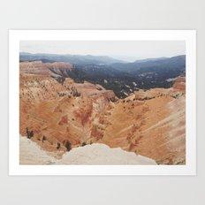 Cedar Breaks Art Print