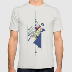 The POW! of love Mens Fitted Tee Silver SMALL
