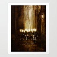Children of the light Art Print