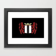Framed Art Print featuring Coat Of Arms Of Delft by Kultjers