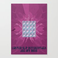 Limited Slip Differentials Canvas Print
