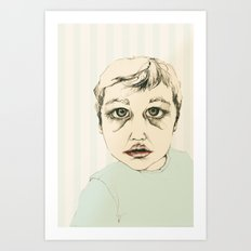 The Child Art Print