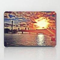 Sunset Over London iPad Case