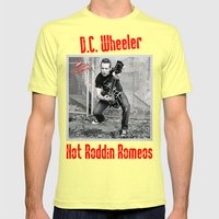 D.C. Wheeler Mens Fitted Tee Lemon SMALL