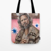 The Dude / The Big Lebowski / Jeff Bridges Tote Bag