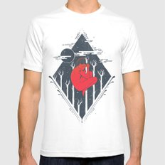 Cosmic Trance Mens Fitted Tee White SMALL