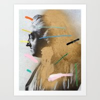 Art Print featuring Composition 528 by Chad Wys