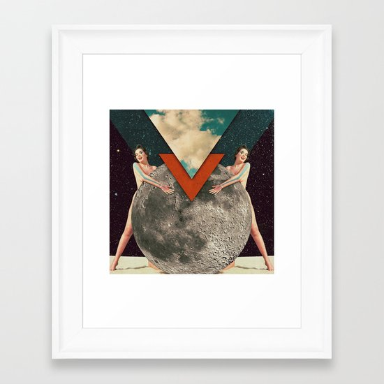 Ritual Union Framed Art Print