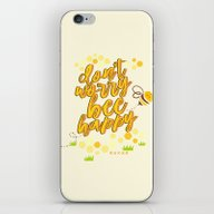 Don't Worry Be Happy. iPhone & iPod Skin