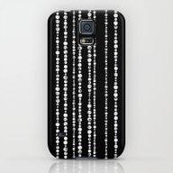 WHITE PEARLS Galaxy S5 Slim Case