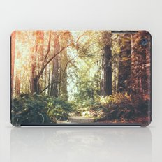 Beautiful California Redwoods iPad Case