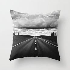Serendipitous Symmetry Throw Pillow