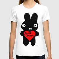 bunny T-shirts featuring Bunny by FUKU & S.Borkowska