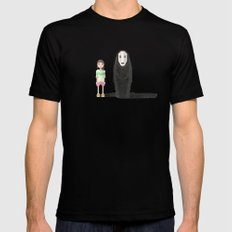 spirited away SMALL Mens Fitted Tee Black