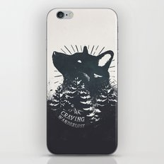 Craving wanderlust iPhone & iPod Skin