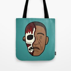 Faces of Breaking Bad: Gustavo Fring (Face-Off) Tote Bag