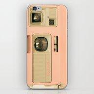 Pink Pola Love Vintage C… iPhone & iPod Skin