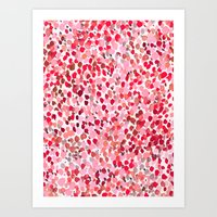 Lighthearted Sweetheart Art Print