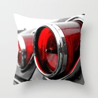 Impala Taillights Throw Pillow