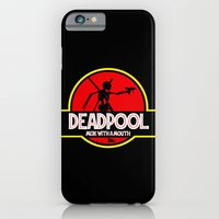 iPhone & iPod Case featuring  Deadpool : Merc with a Mouth by bionicman31