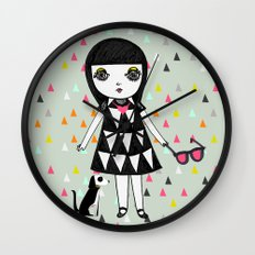 She loves her eames.  Wall Clock