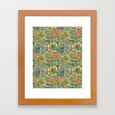 Succulent Love Framed Art Print