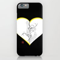iPhone & iPod Case featuring A random thought about love by i am gao