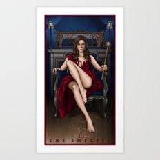 III. The Empress Art Print
