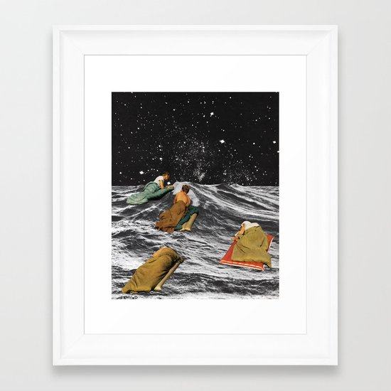 DRIFTERS Framed Art Print