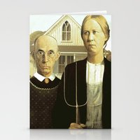 Stationery Card featuring American Modern by Robert Cooper