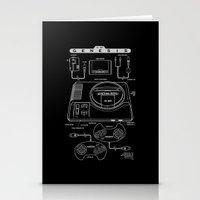 Mega Drive Stationery Cards