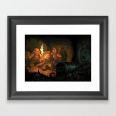 Unlucky Pirates Framed Art Print