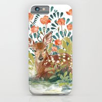 iPhone & iPod Case featuring In the grass by Eachen Chen