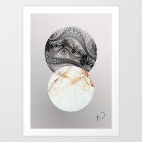 Wisconsin Balls Art Print