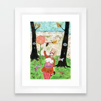Secret Place II Framed Art Print