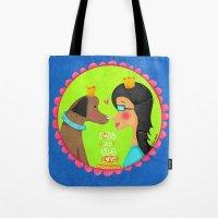 Dogs Are True Love ❤️ Tote Bag