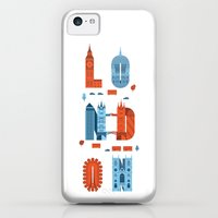iPhone 5c Cases featuring London by Wharton