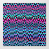 Making Waves Berry Smoothie Canvas Print