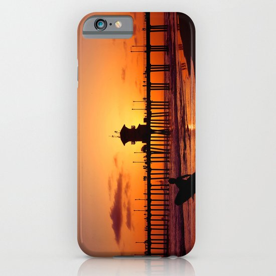 Surfers Sunset iPhone & iPod Case