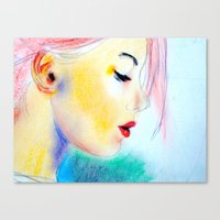 draft Canvas Print