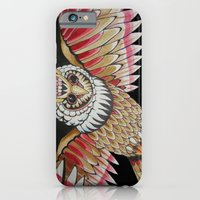 iPhone & iPod Case featuring night watchman by Brian J Farrell