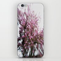 Abstract Pink Flowers 2 iPhone & iPod Skin