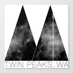 Twin Peaks, WA Canvas Print