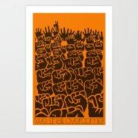 Overcome Art Print