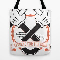 Streets For The Kids Tote Bag