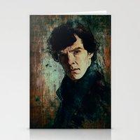 sherlock Stationery Cards featuring Sherlock by Sirenphotos