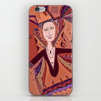 King Of Nothing iPhone & iPod Skin